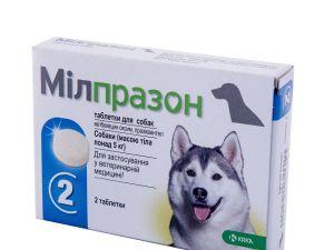 Милпразон таблетки 2×12,5 мг/125 мг