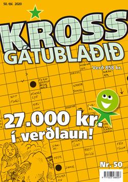Krossgátublaðið 50. tbl. ársins 2021 - 858 kr.