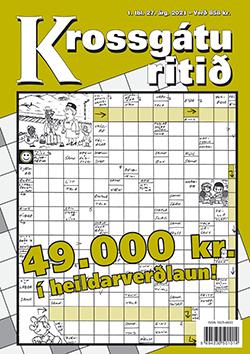 Krossgáturitið 1. tbl. 2021 - 858 kr.