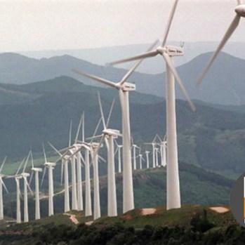 trabajo vertical - molino de viento logo