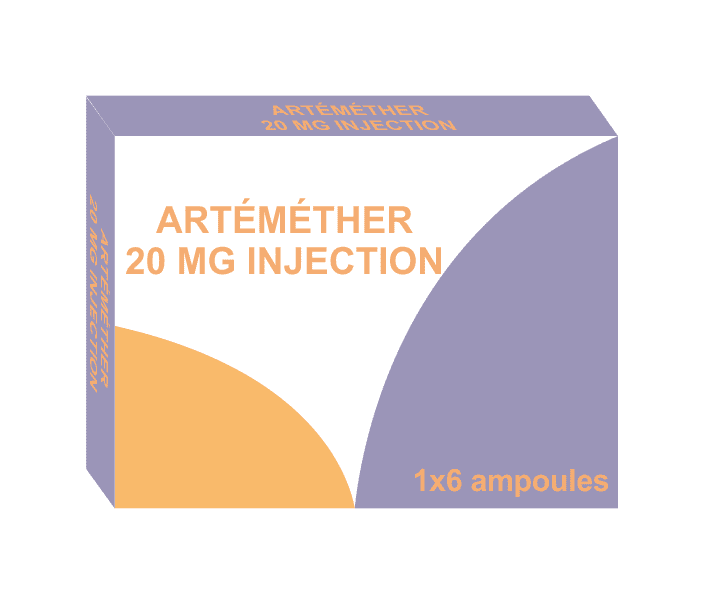 Lumewell - artemether injection 20mg