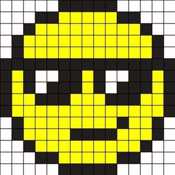 Пиксельные смайлы