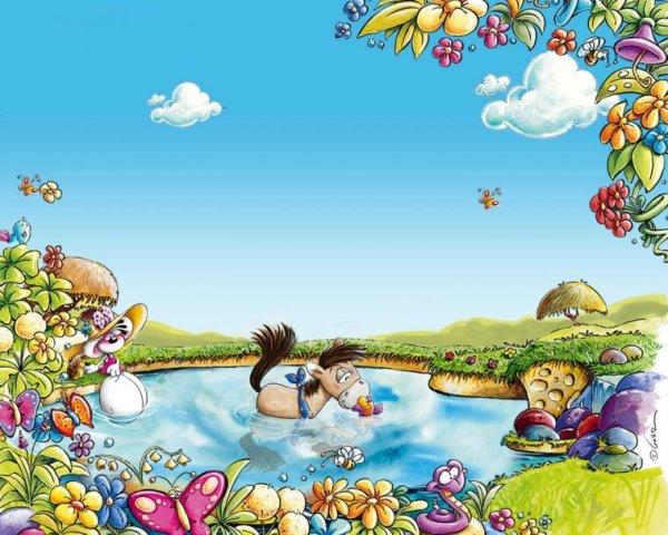 Сказочные детские фоны (56 фото) - красивые картинки