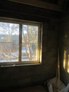 Ebbas rum med fönster.