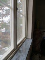 Våra vackra fönsterbräden.