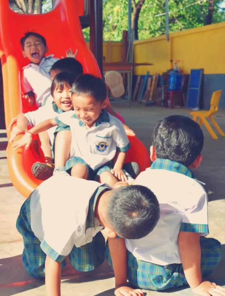 Krou Yeung Centre Kids Playing