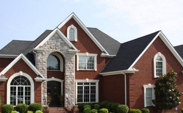 100 вариантов на фото: сочетание цвета крыши и фасада дома
