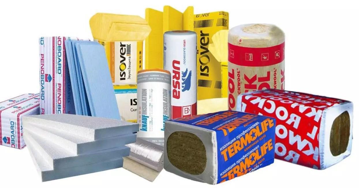 今天在市场上实施的隔热材料系列非常宽。