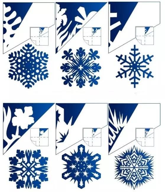 Apa yang boleh menjadi corak kepingan salji buatan sendiri