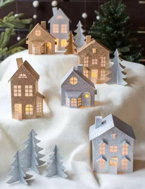 Casele de jucărie de hârtie