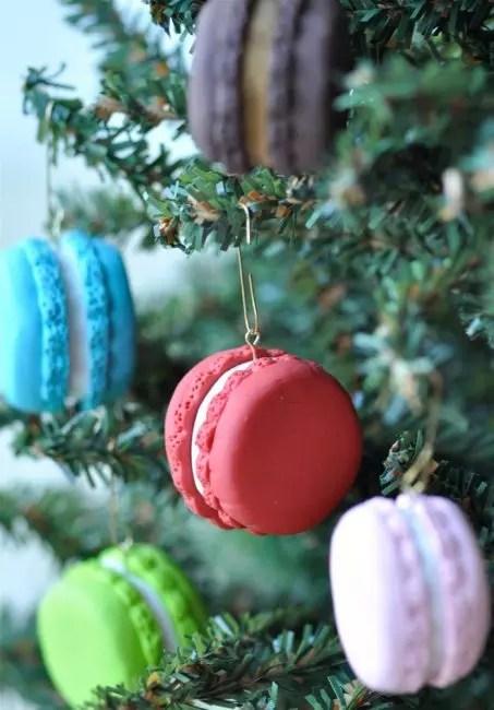 Ranskalainen makaron joulukuusi. Miksi ei. Tee se voi olla valmistettu polymeerisavesta