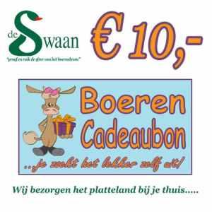 Boeren Cadeaubonnen 10 - Een Cadeaubon is het ideale kerstpakket voor elke medewerker - Bestel een BoerenCadeaubon- www.Krstpkkt.nl