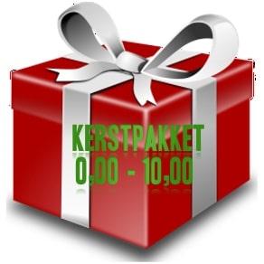 Kerstpakket € 0,00 - € 10,00