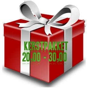 Kerstpakket € 20,00 - € 30,00