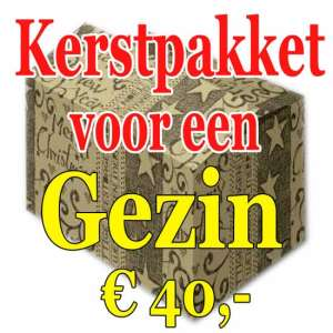 Kerstpakket Gezin Verrassing 40 - Familie verrassingspakket voor het hele gezin - Kerstpakket verrassing Gezin - www.kerstpakkettencadeaubon.nl