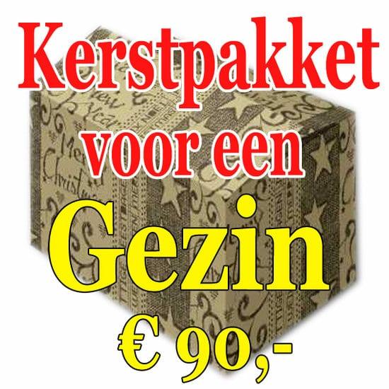 Kerstpakket Gezin Verrassing 90 - Familie verrassingspakket voor het hele gezin - Kerstpakket verrassing Gezin - www.kerstpakkettencadeaubon.nl