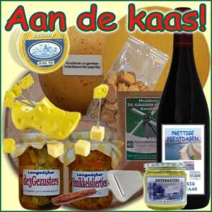 Kerstpakket Kaas - Streekpakket gevuld met lokale boerenkaas en streekproducten - Boerenkaas Specialist - www.kerstpakkettencadeaubon.nl
