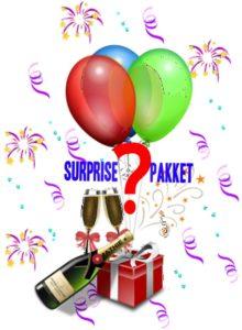 Verrassingspakket - Surprise pakket - laat je verrassen - www.kerstpakkettencadeaubon.nl