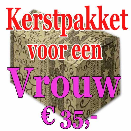 Verrassingspakket voor de Vrouw 35 - Mystery pakket - verras je vrouw - www.kerstpakkettencadeaubon.nl