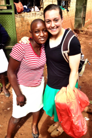 Being reunited with Jalia has been so sweet. This is such an amazing girl.