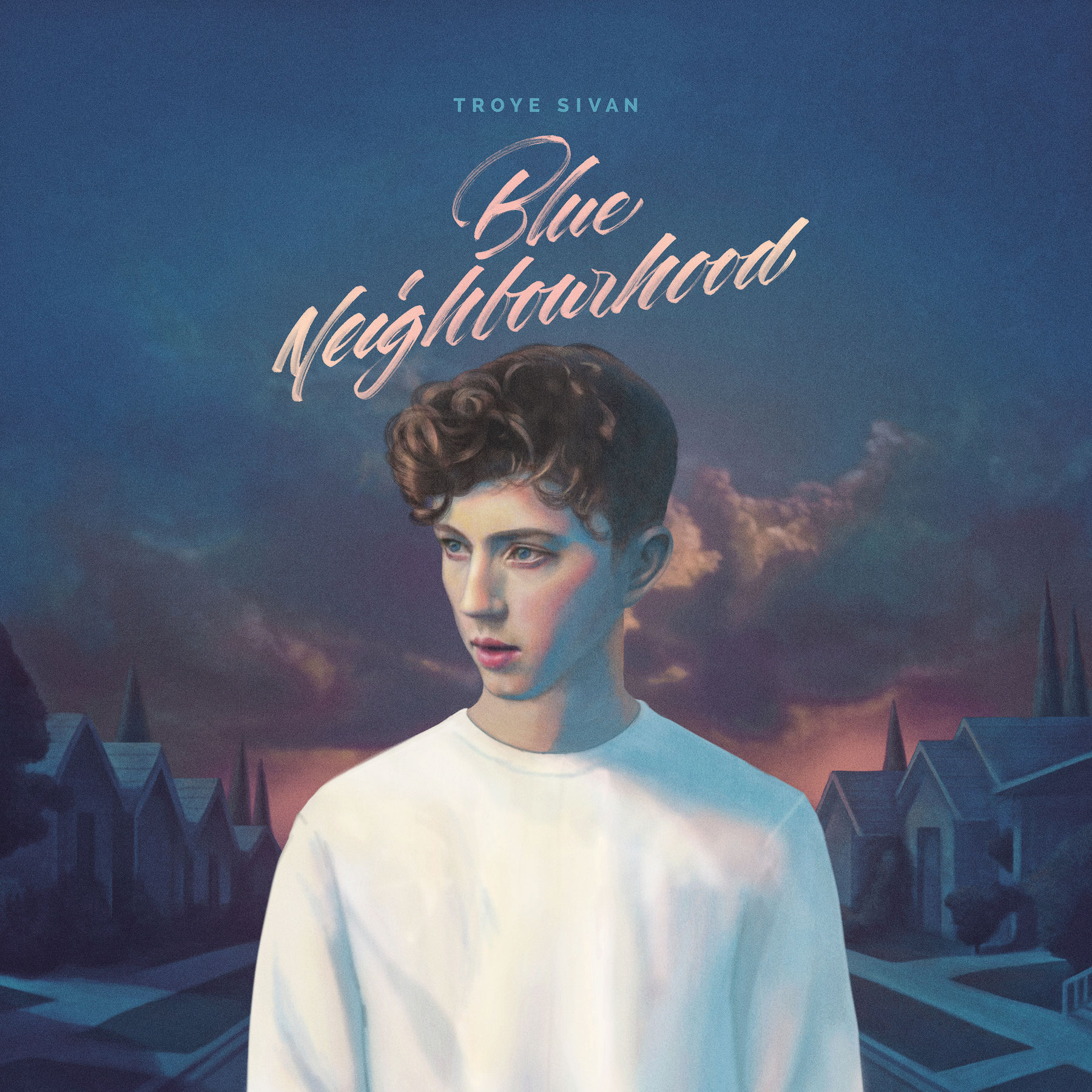 Image result for blue neighborhood album cover