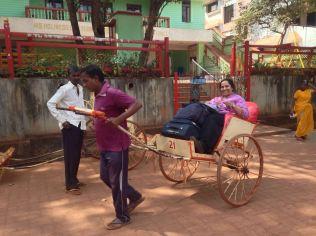 hand auto rickshaw