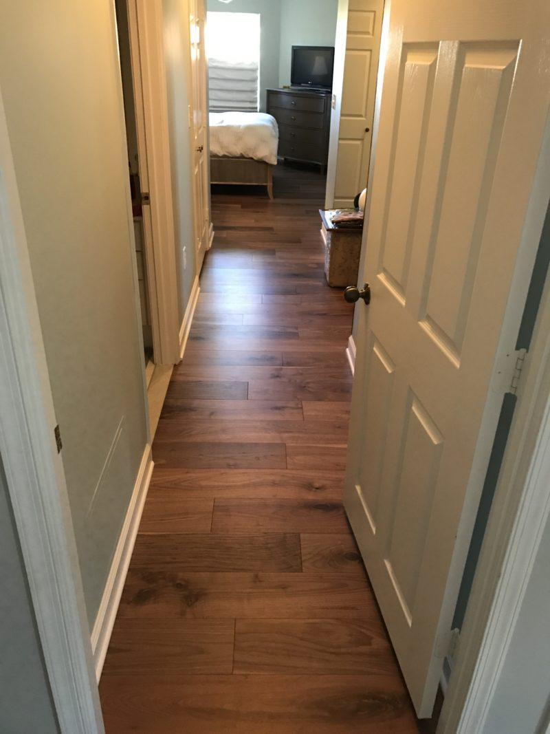 New hardwood floor in Alexandria