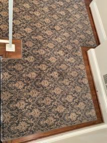 1 28 4 - Carpeted Stairs