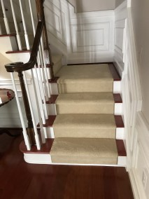 10 15 2 - New Hard Wood Floors and Carpeting on Stairs