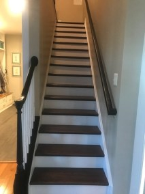 12 24 - New Beautiful Hardwood and stair Installation in Leesburg
