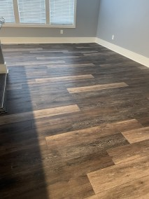 12 6 1 - Blessed To Have Such An Awesome Team - Beautiful New Runner/Parquet Sand-Finish/LVP Installation