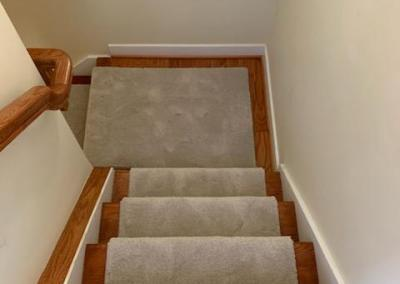 Carpet and Stairs