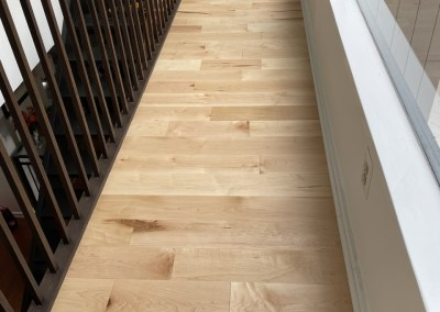 Happy Client And Beautiful New Hardwood Installation In Alexandria