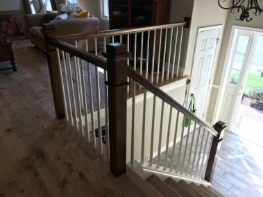16 12 1 - Happy Clients Are The #1 Priority, Beautiful New Hardwood And Stained Rails/Stairs