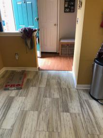 2 23 10 - New Kitchen flooring, Hardwood and Carpet too!