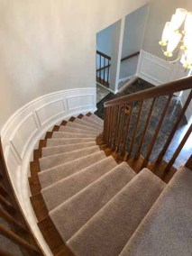 Carpet Staircase Gray