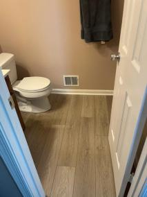 5 47 - Back Yard Golf Practice Facility in Manassas & LVP for a Bathroom In Montclair