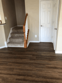 7 23 11 - New Laminate and Carpet Flooring