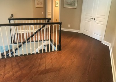 New Beautiful Hardwood and stair Installation in Leesburg