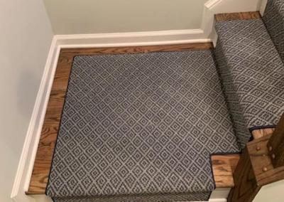 New Stair Carpeting