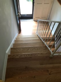 9 14 5 - New Hardwood Flooring and Stairs