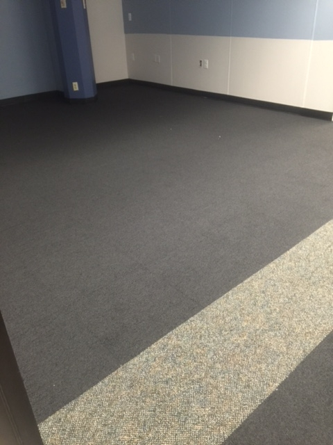 Carpet jobs completed