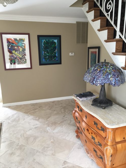 New marble and hardwood in Great Falls