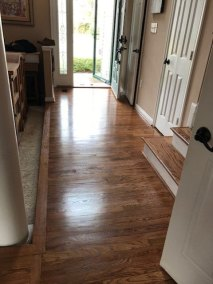 front door flooring - New Hard Wood Staircase and Flooring