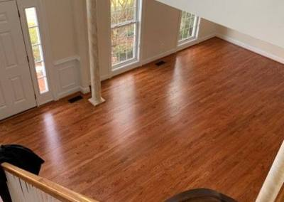 New Carpeting and Hardwood Floors