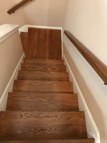 stairway - New Hard Wood Staircase and Flooring