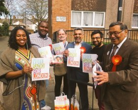 Campaigning in Stonebridge