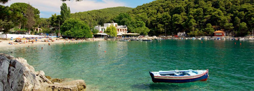 Agnontas beach Skopelos