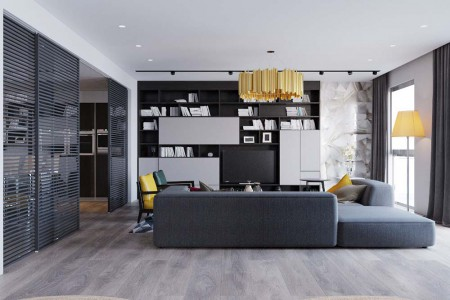 Цвет пола в интерьере квартиры. Как сочетать цвет стен, пола и потолка