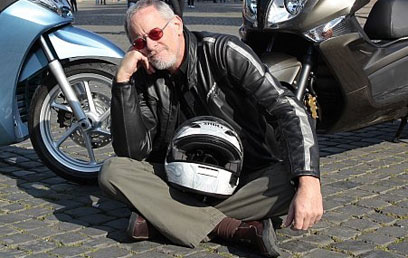 דני קושמרו סופד לטל שביט מותו של אופנוען